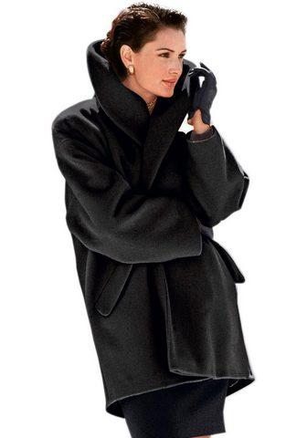 Пальто с apartem воротник