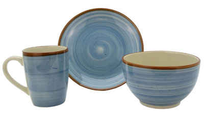 Home affaire Kaffeeservice »Bel Deco« (18-tlg), Keramik