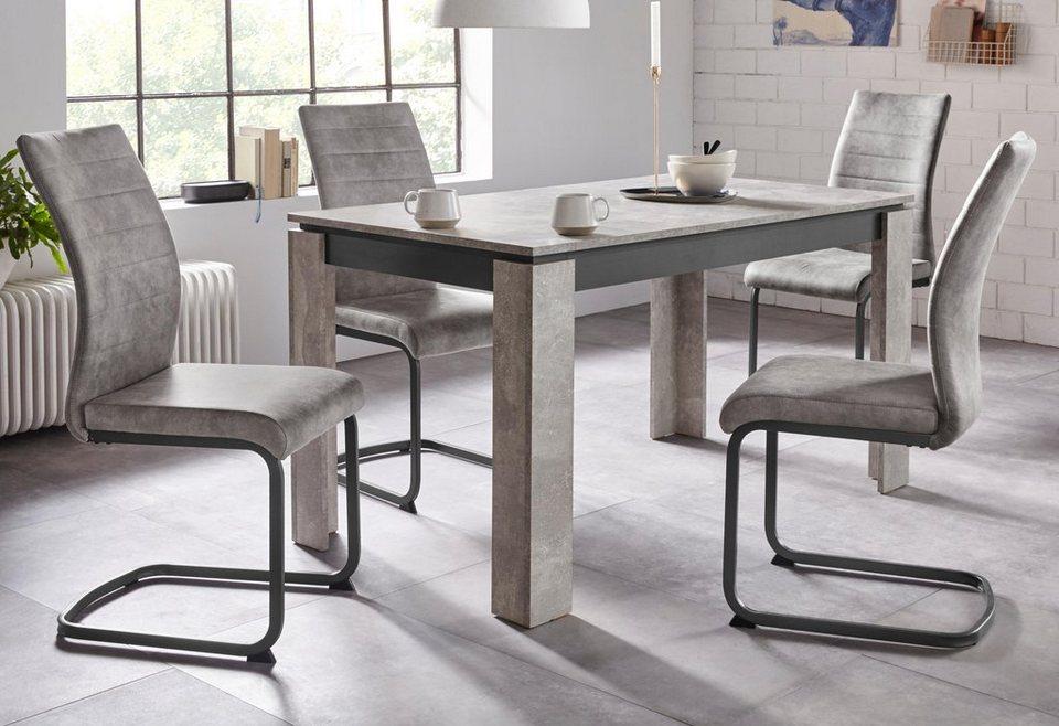 Essgruppe »KATRIN«, Stühle in 3 verschiedenen Farben im Set erhältlich online kaufen   OTTO