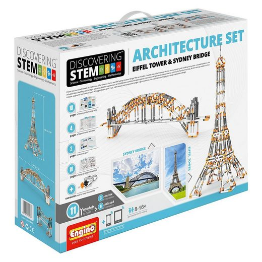 ENGINO Architekturset Eifel Tower& Sydney Bridge