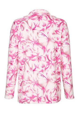 Рубашка с цветочный узор