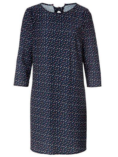 Conleys Blue Kleid mit Rückendetail