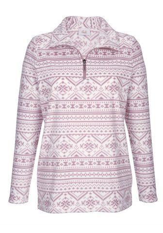 PAOLA Flisiniai marškinėliai su Norwegerdruc...