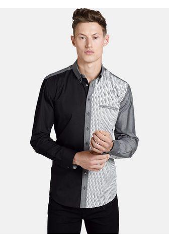 SHIRTMASTER Marškiniai ilgomis rankovėmis »blackgr...