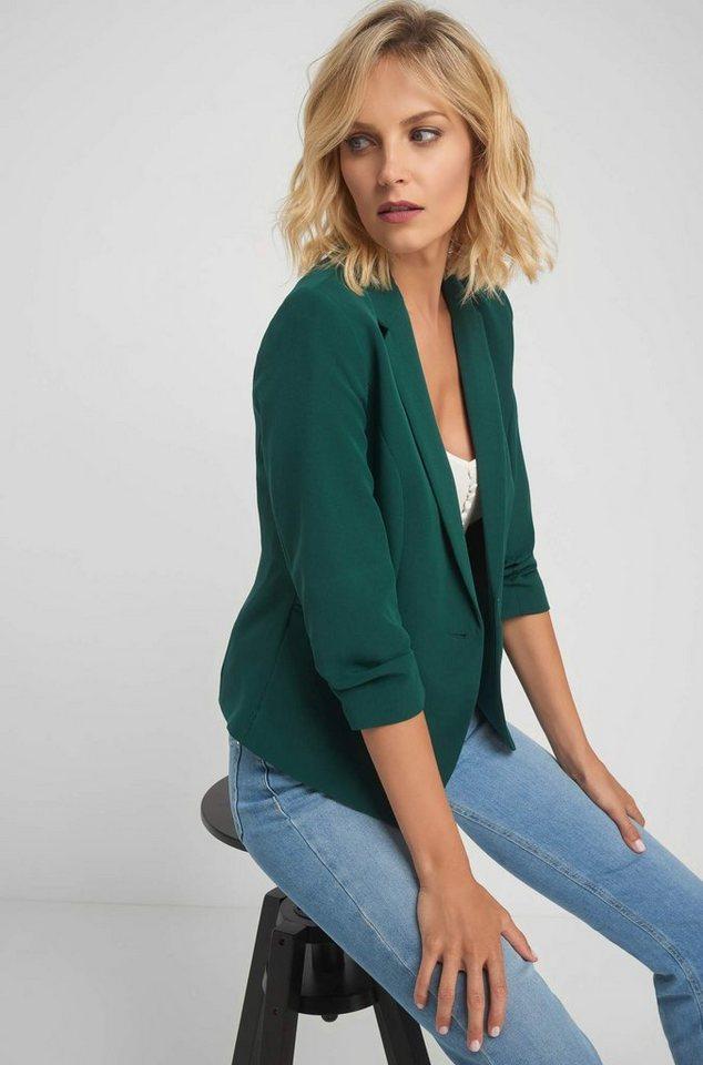 ORSAY Jackenblazer mit Knopfverschluss   Bekleidung > Blazer > Jackenblazer   Grün   Jeans   ORSAY