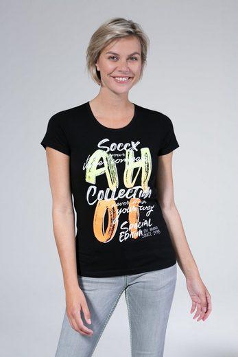 SOCCX T-Shirt mit Necktape