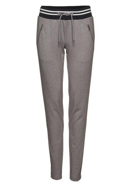 Hosen - AJC Jogger Pants im trendigem Retro Design › grau  - Onlineshop OTTO