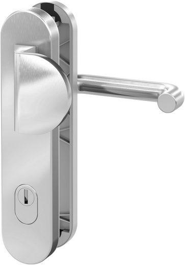 BASI Sicherheitsbeschlag »Edelstahl Haustürbeschlag«, SB 7200, mit Zylinderabdeckung