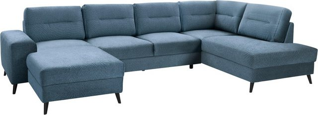 Guido Maria Kretschmer Home&Living Ecksofa »Train Ecclair« | Wohnzimmer > Sofas & Couches > Ecksofas & Eckcouches | Blau | Guido Maria Kretschmer Home&Living
