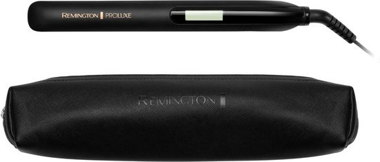 Remington Glätteisen »S9100 ProLuxe Midnight Edition« Ultimate-Glide-Keramik-Beschichtung