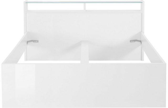Betten - Tecnos Futonbett »Malika« › 180x200 cm › weiß  - Onlineshop OTTO