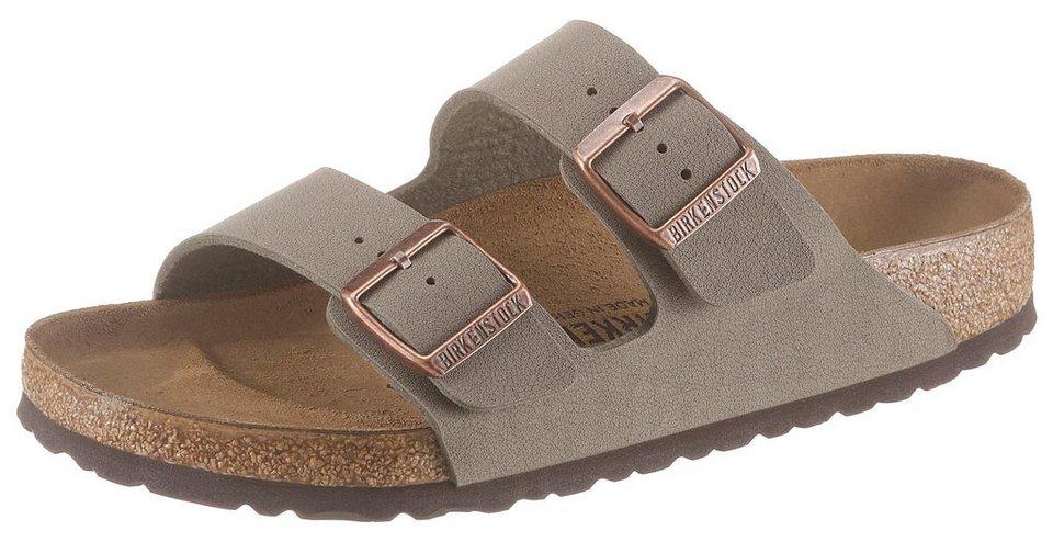 cheap for discount d0729 d65dc Birkenstock »ARIZONA BF« Pantolette mit ergonomisch geformtem Fußbett  online kaufen   OTTO