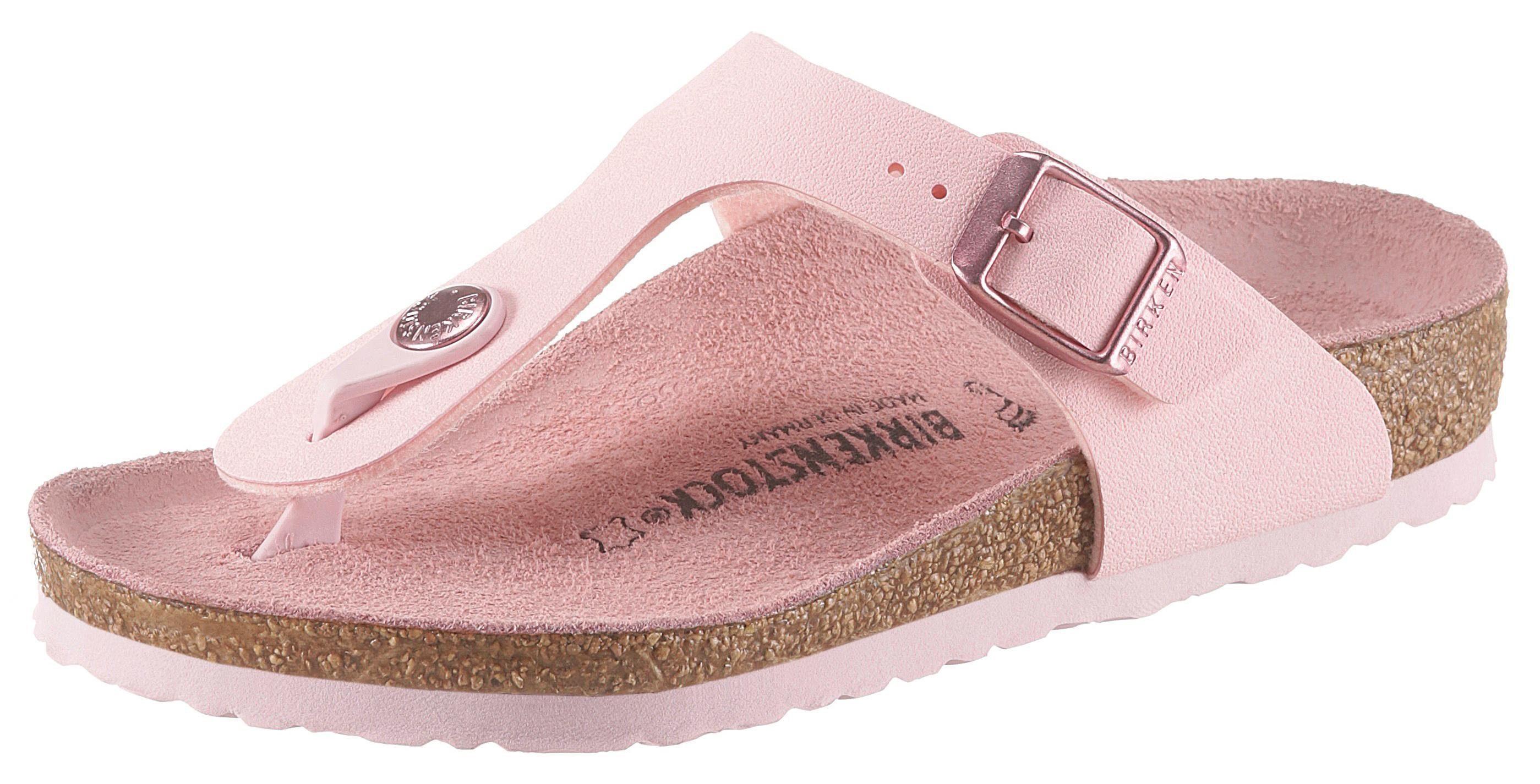 Birkenstock »Gizeh« Zehentrenner mit verstellbarer Schnalle, schmale Schuhweite online kaufen | OTTO
