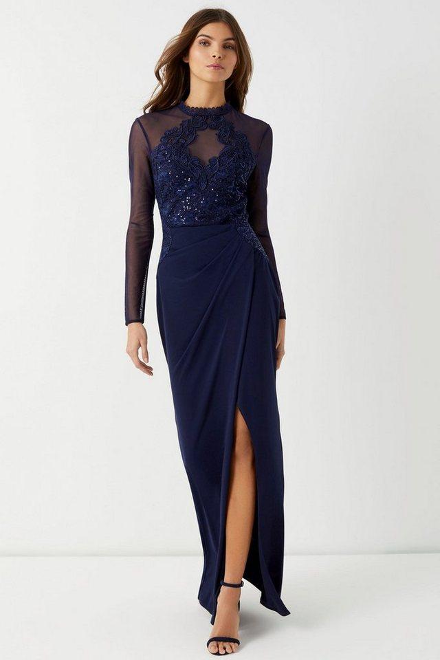 lipsy -  Abendkleid mit Spitze und Pailletten