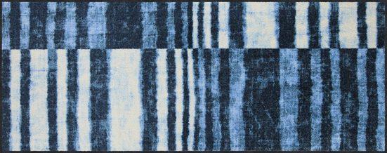 Läufer »Denim Stripes«, Salonloewe, rechteckig, Höhe 7 mm, waschbar