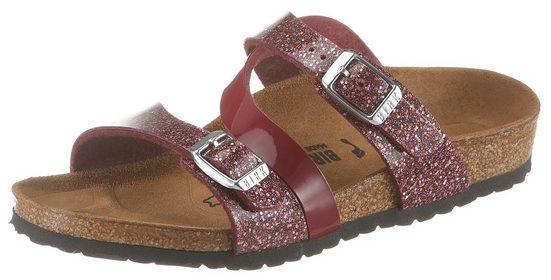 Birkenstock »Salina« Pantolette mit asymmetrischem Riemchen, Schuhweite: schmal