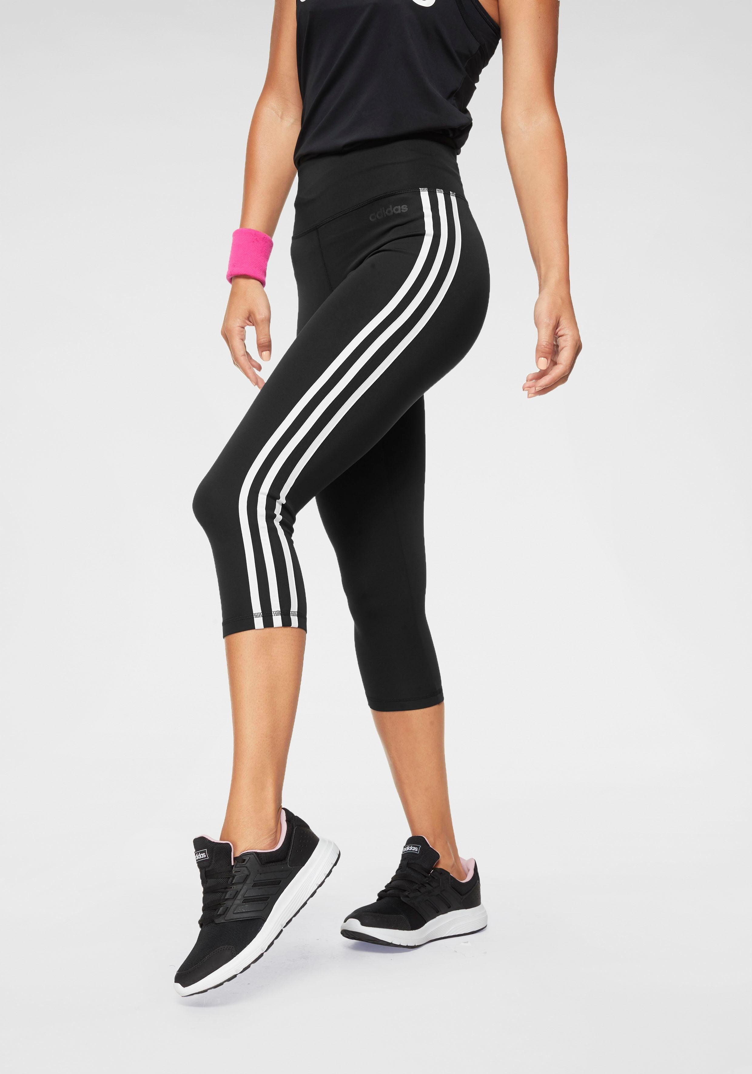 adidas Performance Funktionstights »DESIGN TO MOVE 3 STRIPES