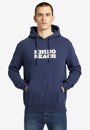 khujo Kapuzensweatshirt »ADAMO« mit Logo-Stickerei und Kängurutasche online kaufen