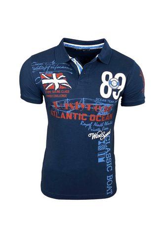 RUSTY NEAL Polo marškinėliai su madingas raštas »...