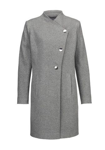 PAOLA Vilnonis paltas su asymmetrischer sago...