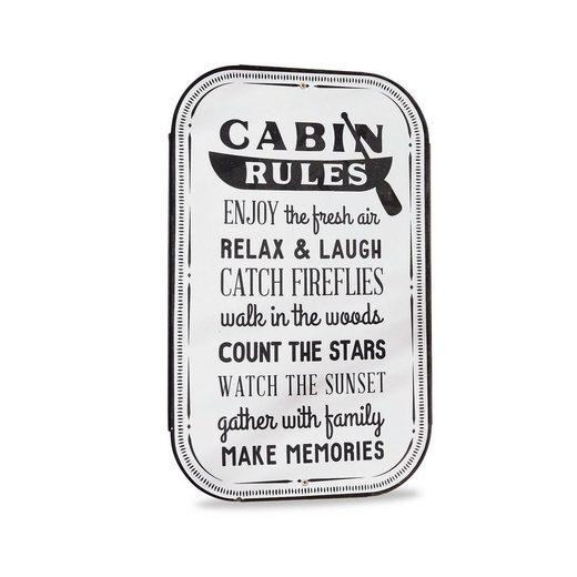 Loberon Декор-Schild »Cabin«