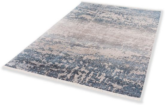Teppich »Mystik 191«, SCHÖNER WOHNEN-Kollektion, rechteckig, Höhe 7 mm, besonders weich durch Microfaser, Wohnzimmer