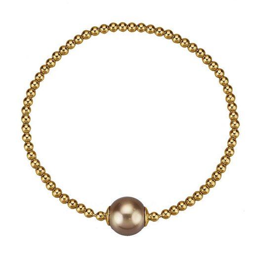 CELESTA Armband »925/- Sterling Silber vergoldet Perle«