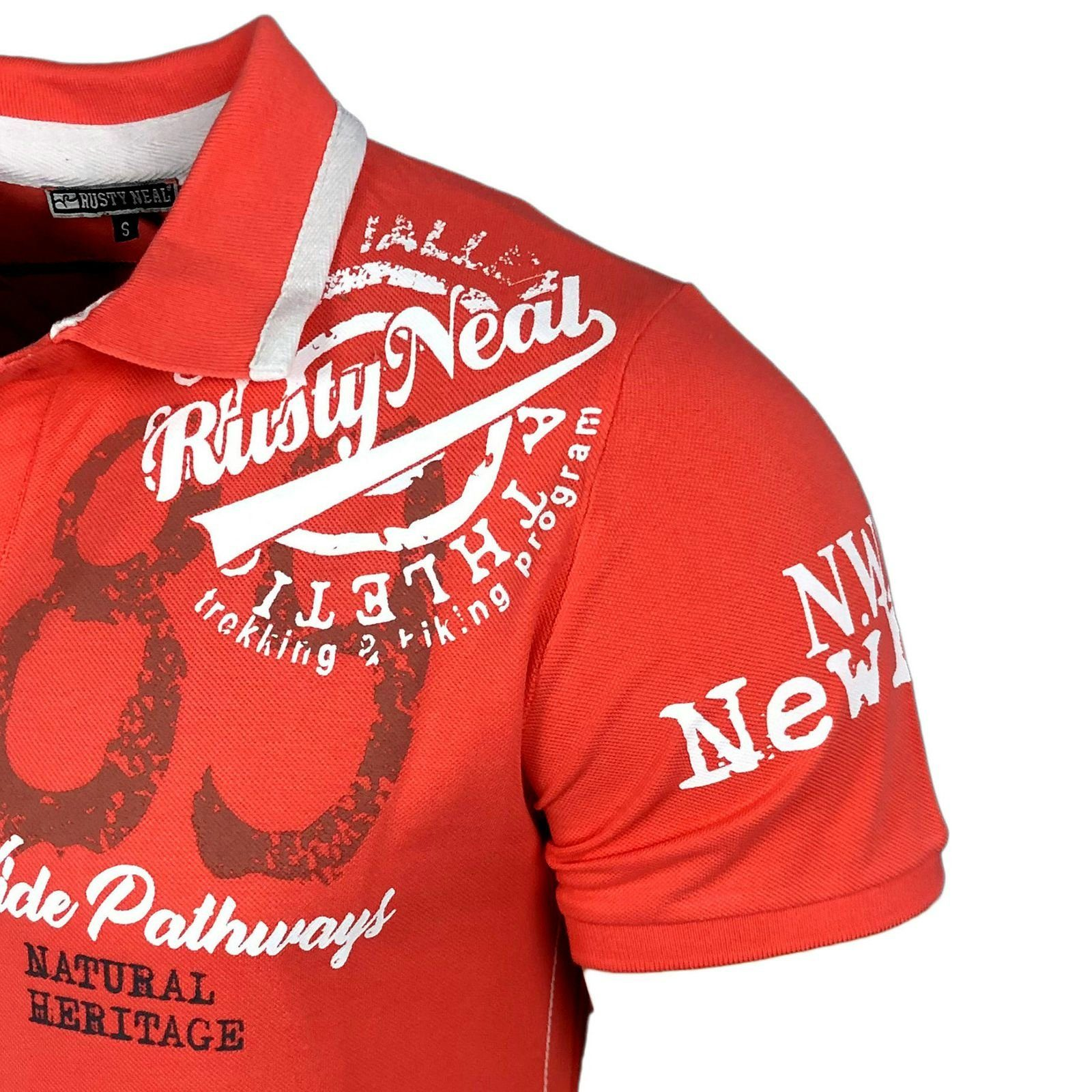 Poloshirt Kaufen Neal Coolem »a1 Mit 15222« Rusty Alloverprint rn Online rdQxeCBoW