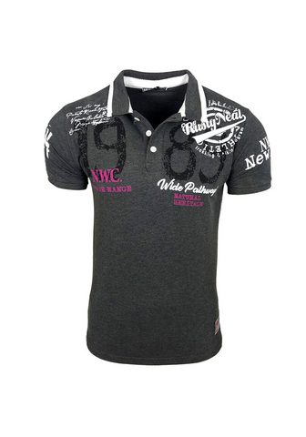 RUSTY NEAL Polo marškinėliai su coolem piešiniu »...