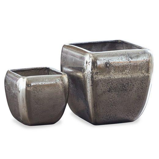 Loberon Vase 2er Set »Kono«