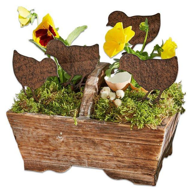 Mirabeau Garten-Ornament 4er Set »Tiago« | Garten > Dekoration > Dekofiguren | Mirabeau