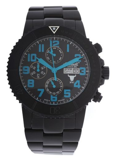 Ingersoll Quarzuhr »Armbanduhr Bison NO.47 Limited Edition«