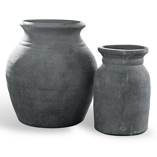 Loberon Vase 2er Set »Molduc«