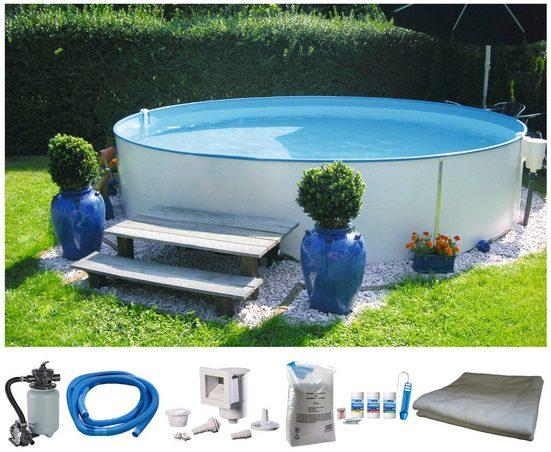 BWT - Best Water Technology Komplett-Set: Rundpool »Premium«, 6-tlg., in verschiedenen Größen