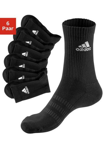 adidas Performance Tennissocken (6-Paar) mit Vollfrottee