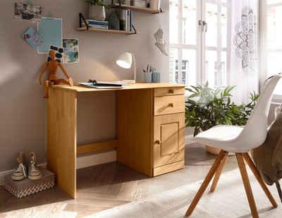 Home affaire Schreibtisch »Vadim«, aus massiver Kiefer