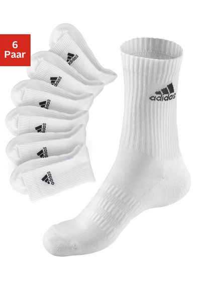 adidas Performance Tennissocken (6-Paar) mit Fuß Polsterung