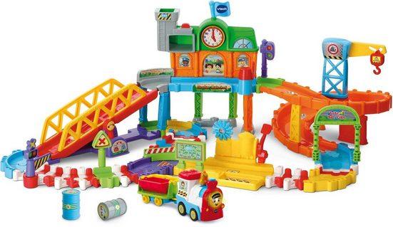 Vtech® Spiel-Gebäude »Tut Tut Baby Züge - Großer Bahnhof«