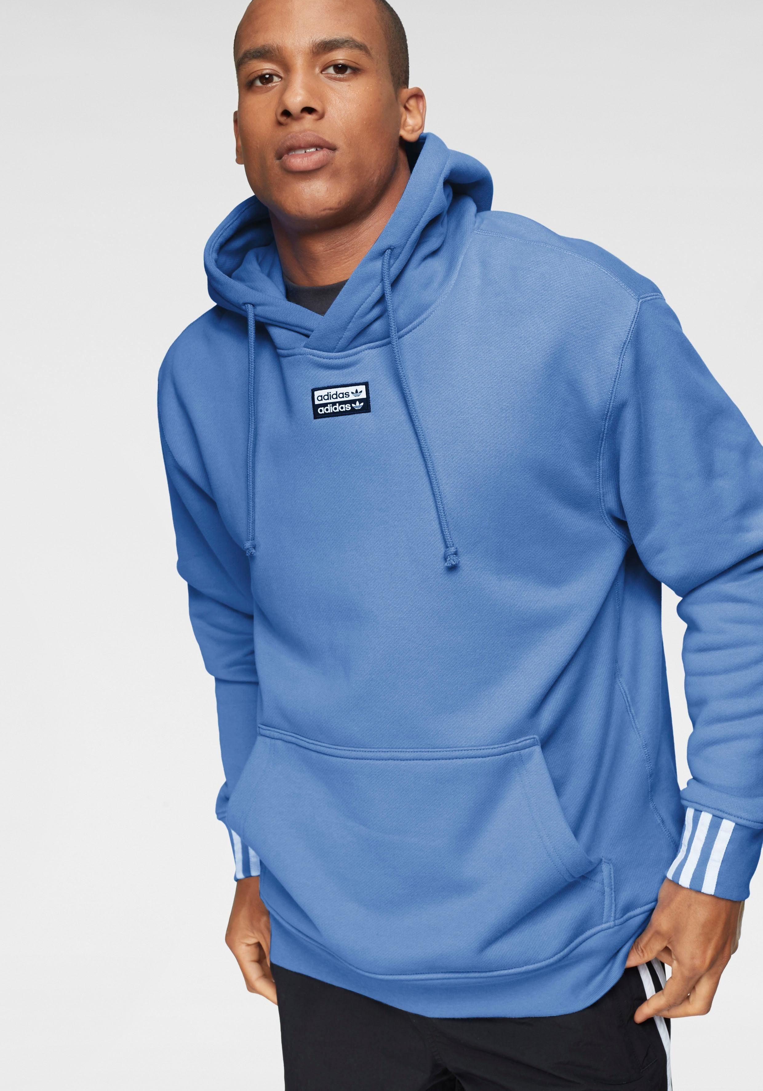 adidas Originals – RYV – Schwarzer Kapuzenpullover mit Print am Rücken