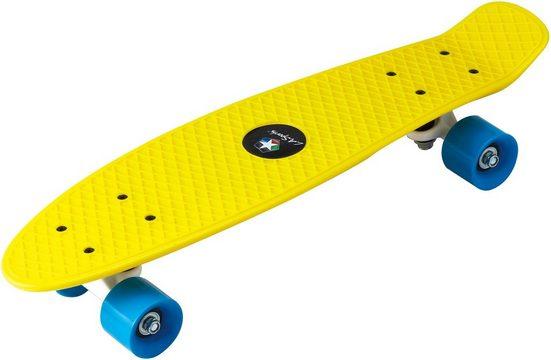 L.A. Sports Skateboard »Kinder Skateboard Mini Cruiser Board«