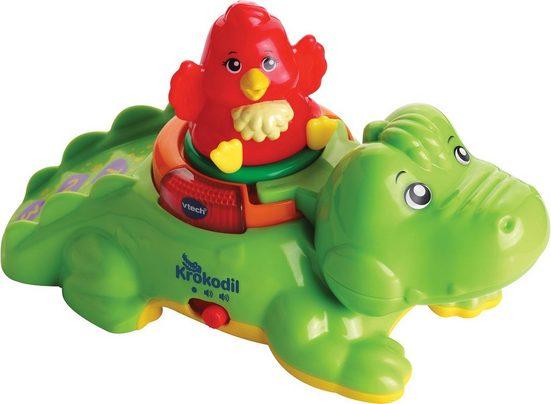Vtech® Steckspielzeug »ZoomiZooz - Huckepack-Krokodil«