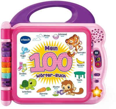 Vtech® Buch »Mein 100-Wörter-Buch pink«, mit Licht und Sound