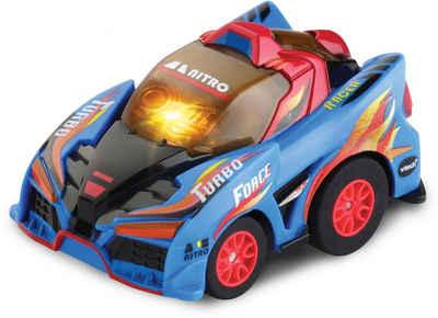 Vtech® RC-Auto »Turbo Force Racers - Race Car blau«, mit Licht- und Soundeffekten