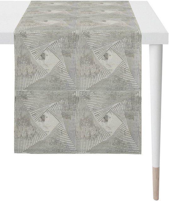 APELT Tischläufer »1307 Loft Style| Jacquard« (1-tlg)| Fleckschutz | Heimtextilien > Tischdecken und Co > Tischläufer | APELT