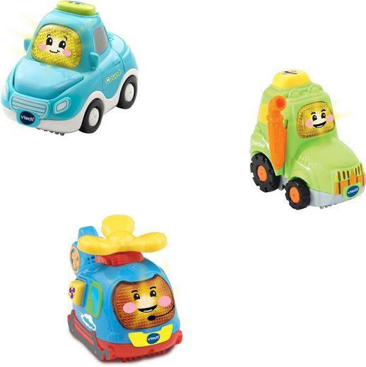 Vtech® Spielzeug-Auto »Tut Tut Baby Flitzer - Stadt-Land-Flug«