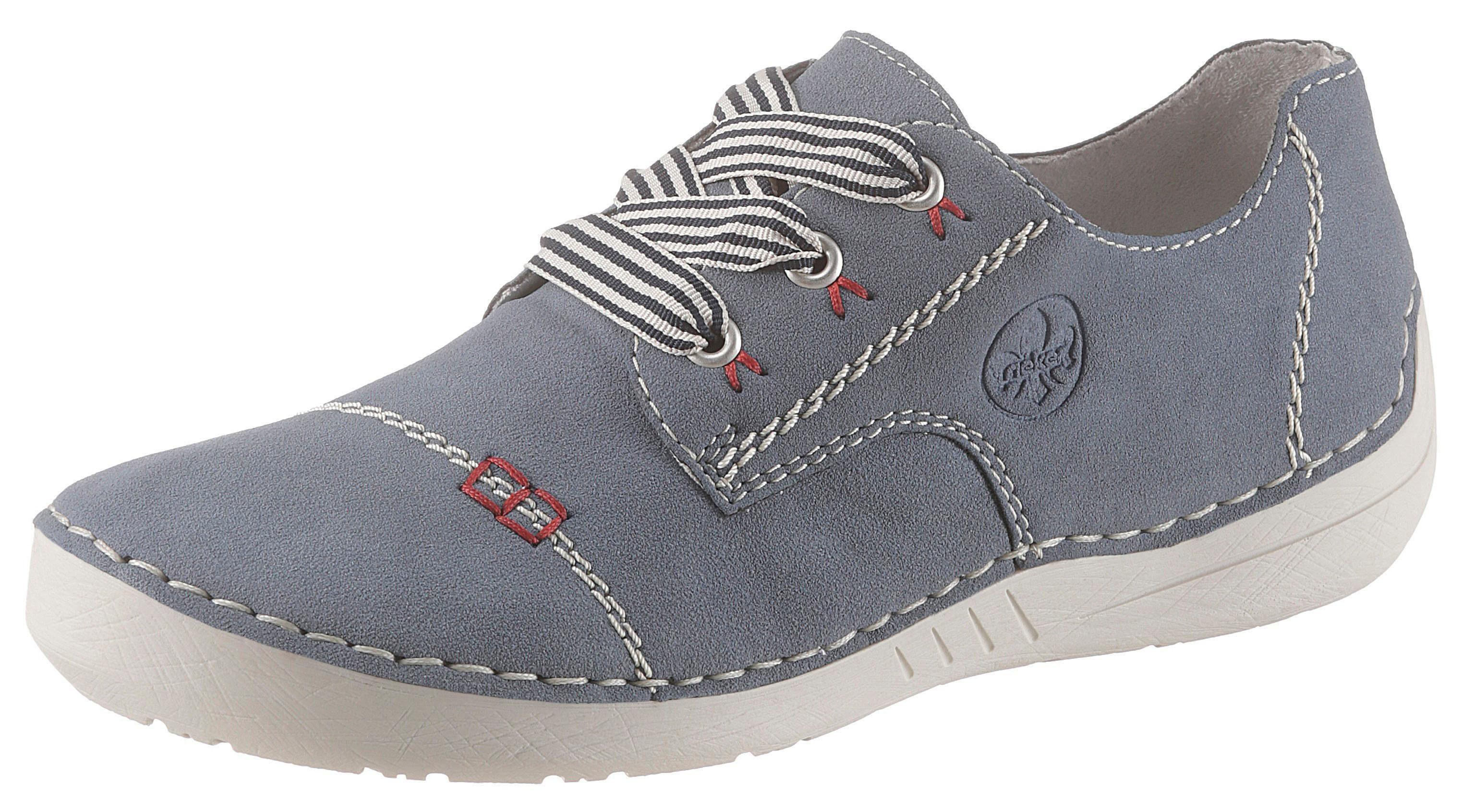 Rieker Sneaker mit aktuellen Ziernähten, Mit seitlicher Logoprägung online kaufen   OTTO