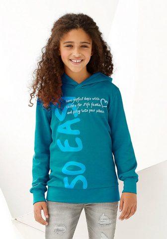 KIDSWORLD Marškinėliai su gobtuvu