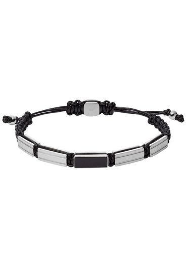 Fossil Armband »MENS DRESS, JF03172040« mit Achat
