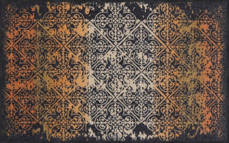 Teppich »Broken Tiles«, Salonloewe, rechteckig, Höhe 7 mm, waschbar
