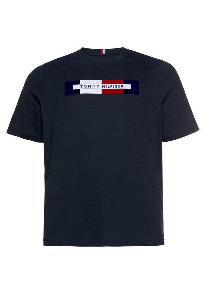 a890a432f61f8 TOMMY HILFIGER T-Shirt »Big & Tall BOX RWB LOGO TEE« online kaufen ...
